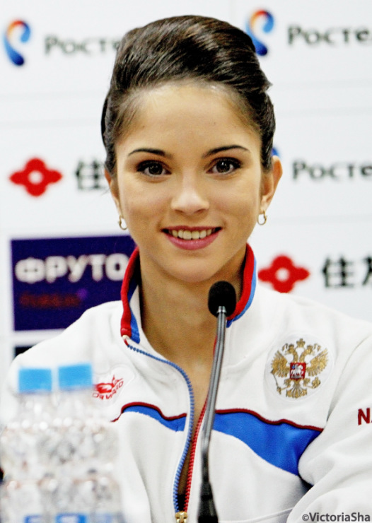 1 Vera BAZAROVA 21yrs Figure Skating Russia
